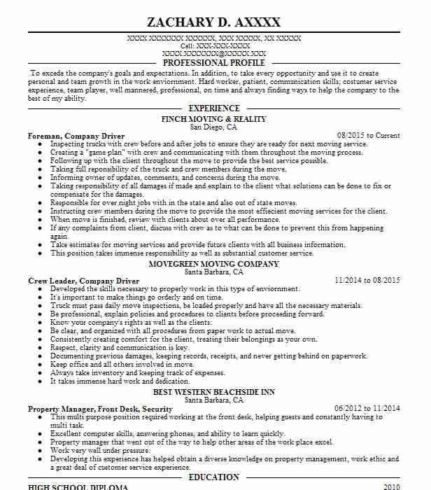 Substance abuse counselor resume example