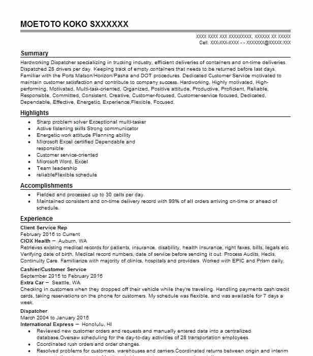 Independent living specialist sample resume