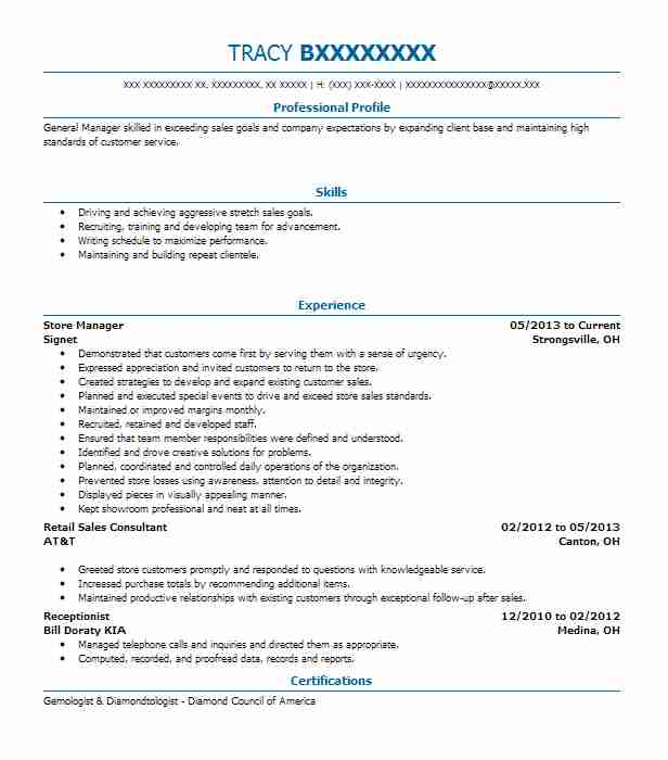 Example of resume for abroad
