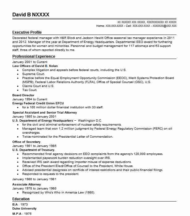 board director resume sample