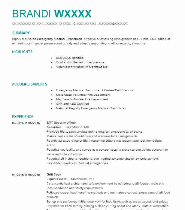 28 healthcare resume examples in sikeston mo livecareer