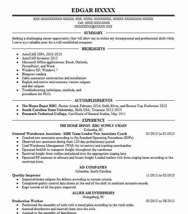 Leader Coach Resume Example Weight Watchers Marshalltown