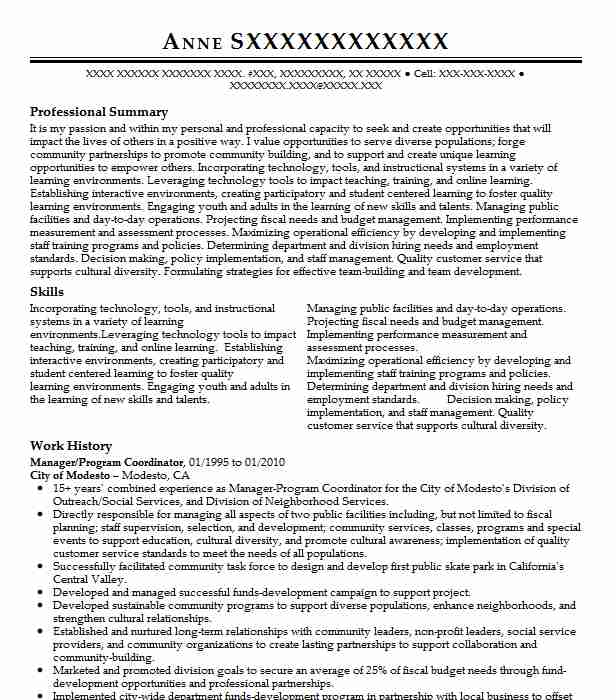 14 government administration resume examples education and