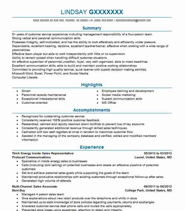 Stunning Think Energy Resume Pictures - Best Resume Examples by ...