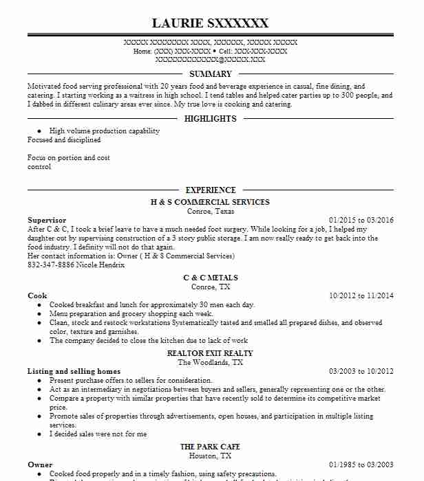 Similar Resumes  Line Cook Resume