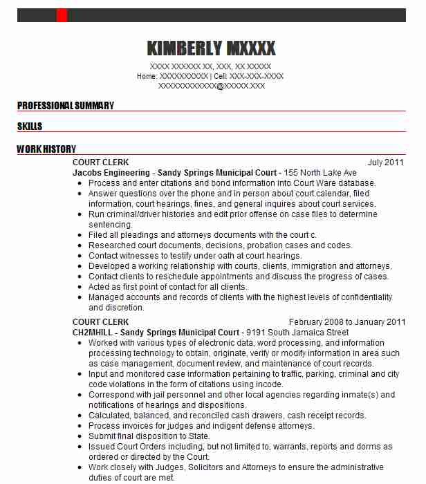 5 legal assistants resume examples
