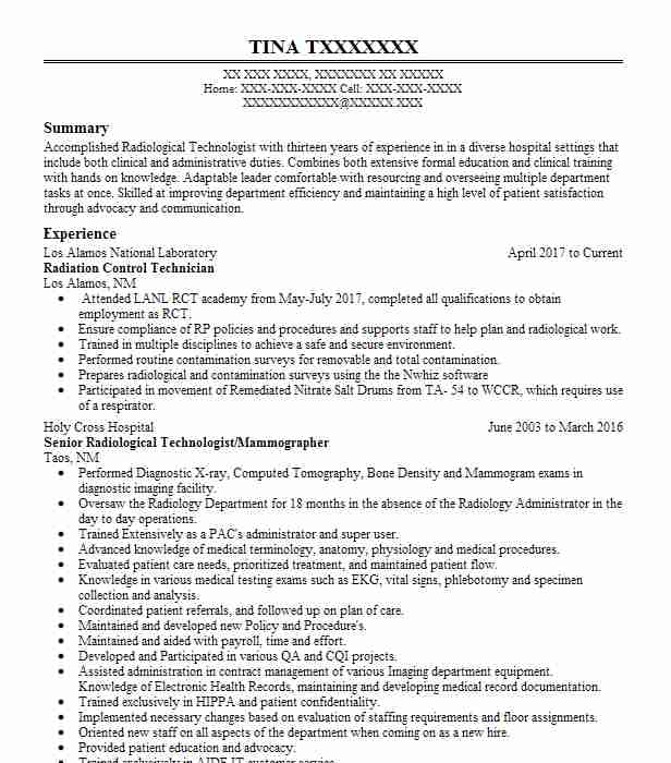 certified medical physicist resume example forsyth regional