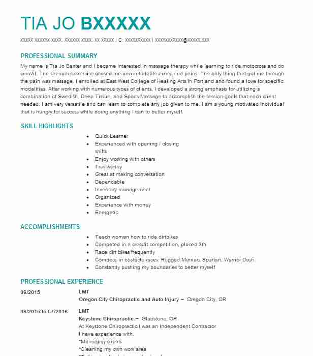 Alternative And Holistic Medicine Resume Examples | Healthcare