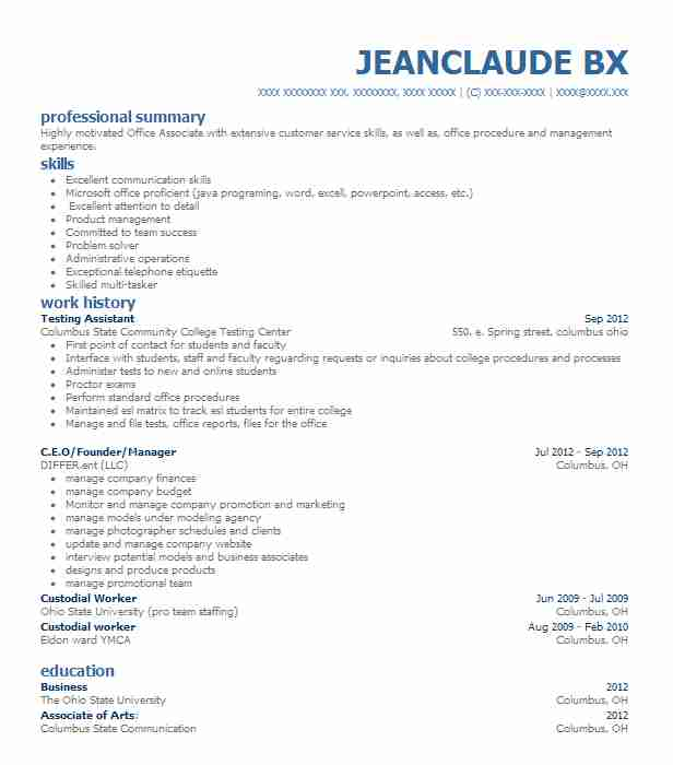 online business resume examples business resumes livecareer