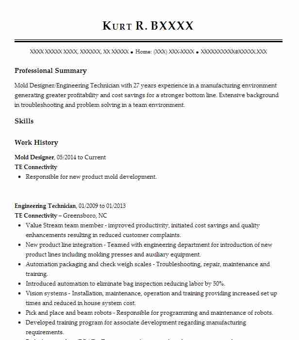 mold maker resume example laika inc