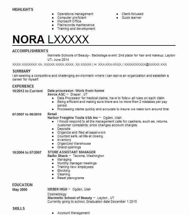 High Quality Similar Resumes Throughout Barber Resume