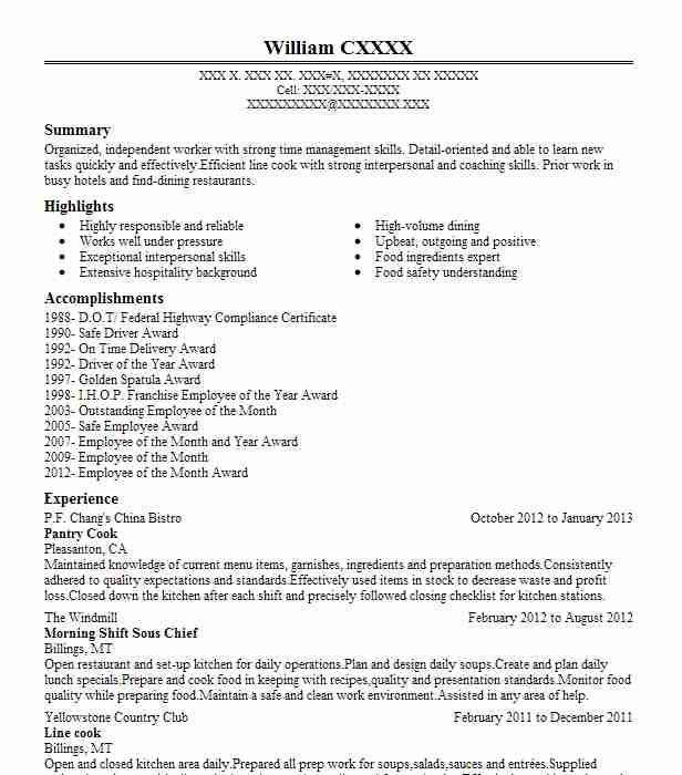 pantry manager resume example oak park river forest food