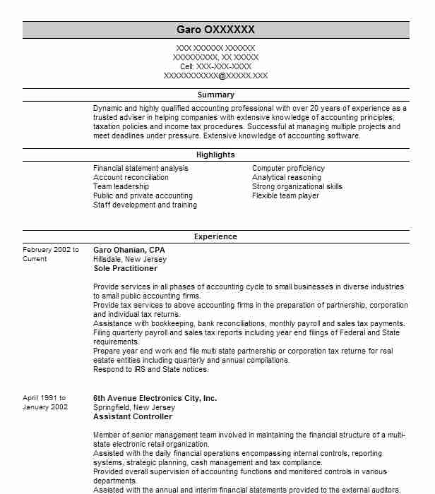 Fund Accountant Resume Sample | Accountant Resumes | LiveCareer