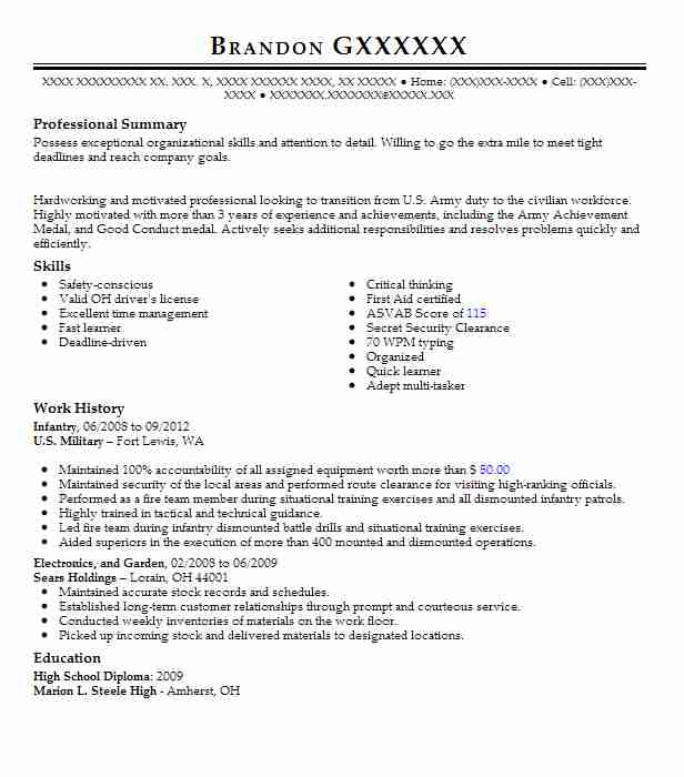 Animal Care And Service Resume Examples Transportation And - Animal care resume