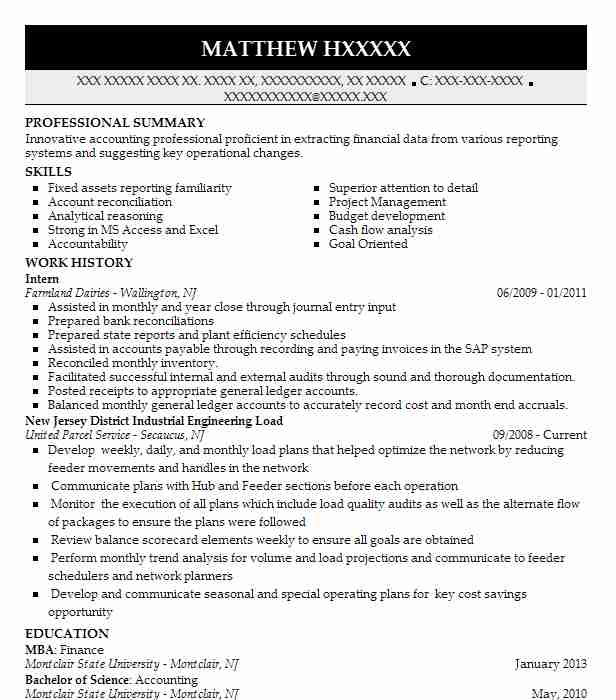 Accounts Payable/Receivable Resume Examples | Engineering Resumes