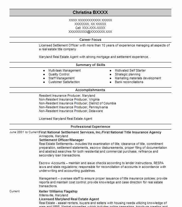 2 resumes matching mortgage resume samples in crofton maryland - Mortgage Resume Samples