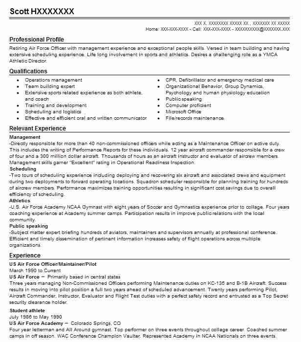 us air force air national guard resume example 153 sfs