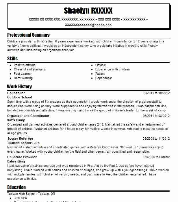counsellor resume sample