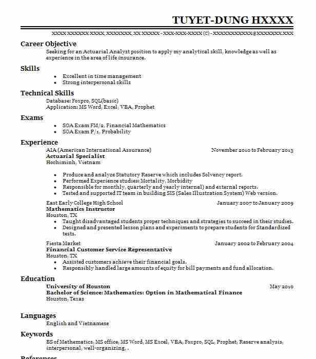 math and statistics tutor resume example utah state university