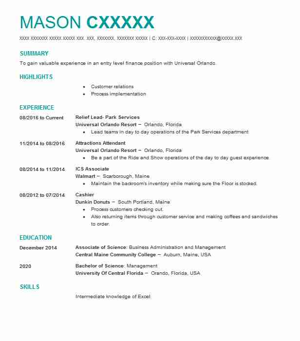 1931 Financial Management (Accounting And Finance) Resume Examples ...