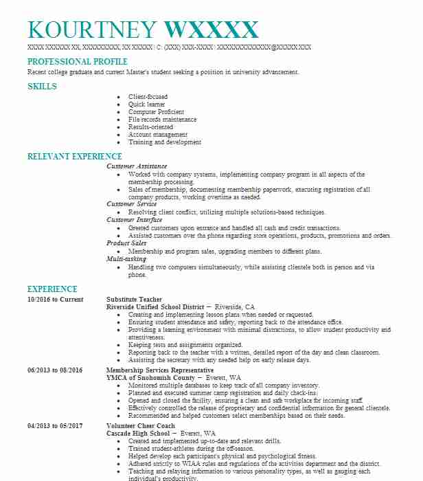 Objectives For Resumes For Teachers: Substitute Teacher Objectives