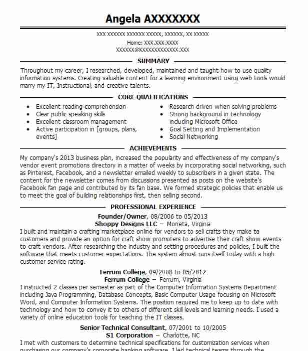 1 credentialing specialist resume examples in moneta va livecareer