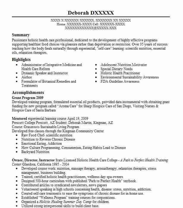 nutritionist resume sample unforgettable nutritionist resume - Lead Author Resume