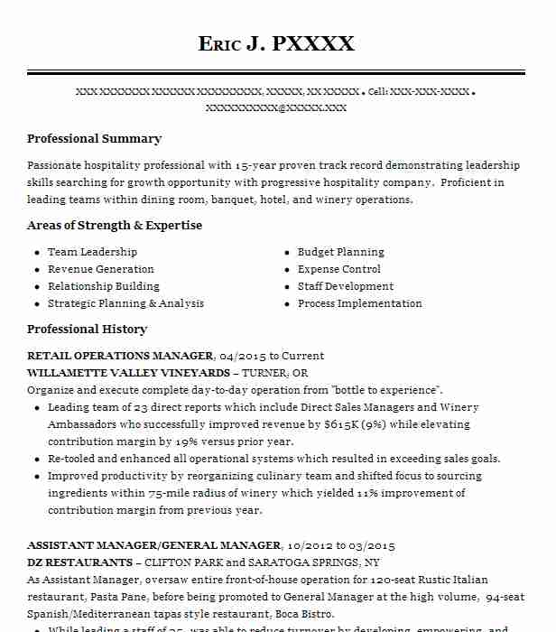Retail Operations Manager Resume Example Ulta Beauty Bronx New York