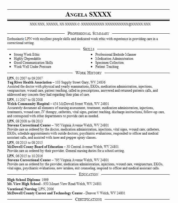 find resume examples in lydia  la