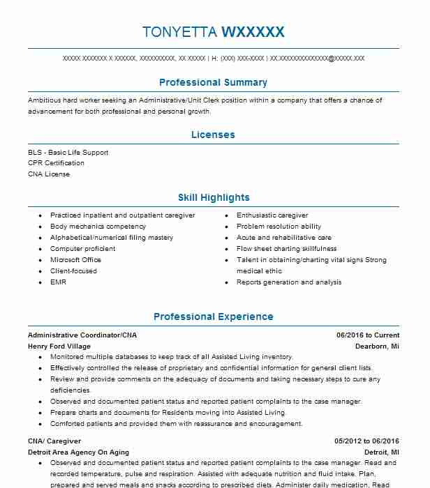 Private Duty Caregiver Resume  Resume For Caregiver
