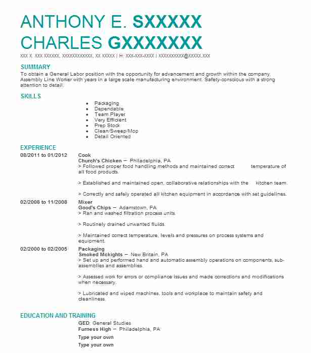 Create My Resume  A Good Objective For A Resume