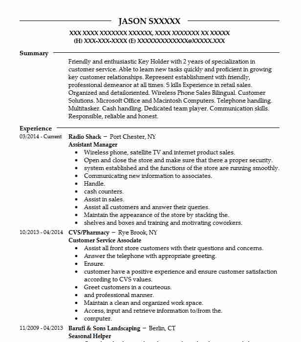 Find Resume Examples In Port Chester, NY