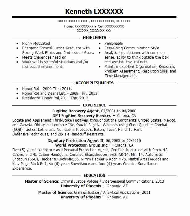 Recovery Agent Resume Example North Star Recovery - Byron ...