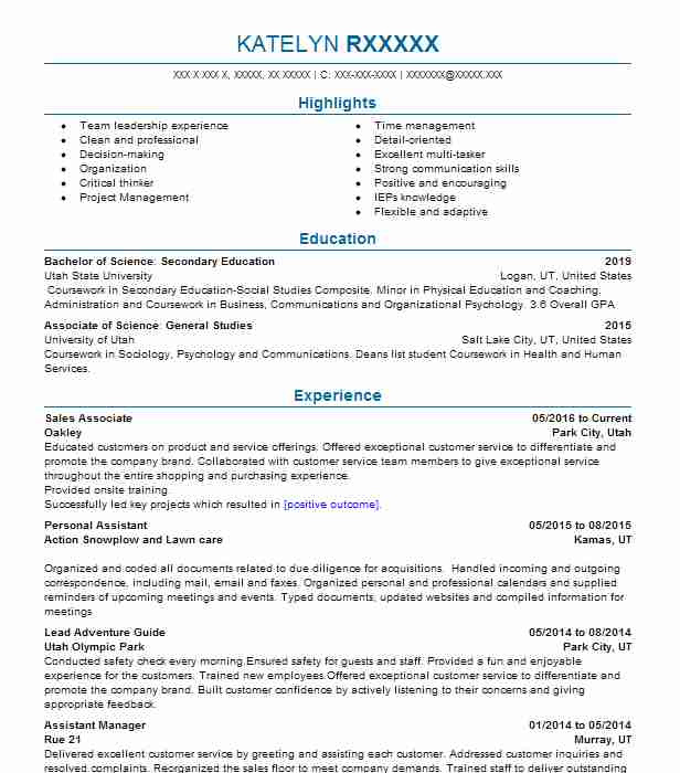 current resume styles 2015