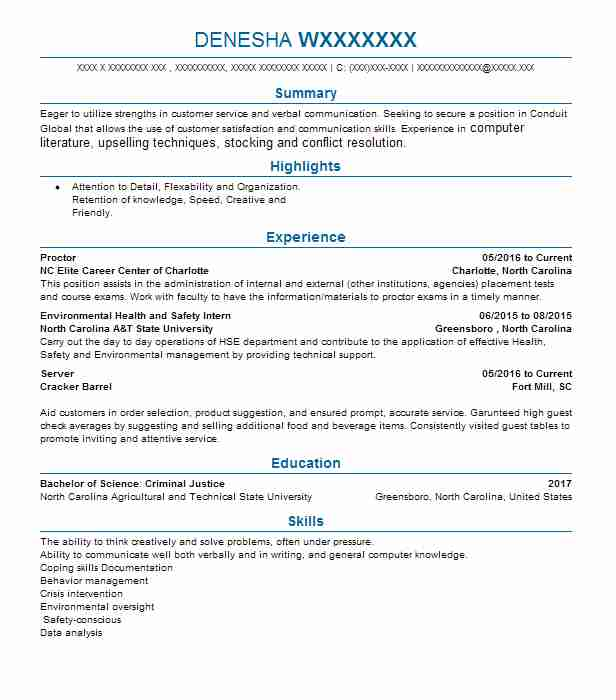 Create My Resume  Safety Officer Resume