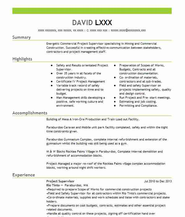 10 Extraction And Mining Resume Examples in Connecticut | LiveCareer