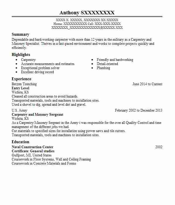 Eye Grabbing Entry Level Resumes Samples Livecareer