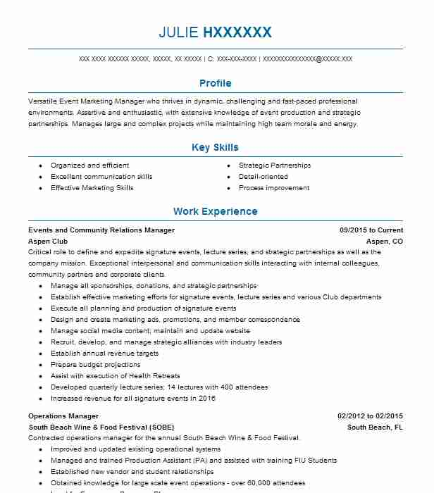 204 Project Management Resume Examples in Colorado | LiveCareer