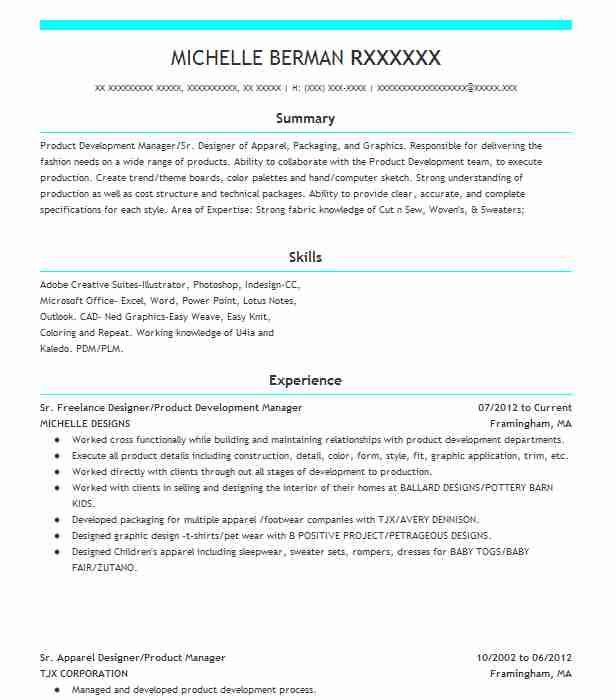 similar resumes - Product Owner Resume
