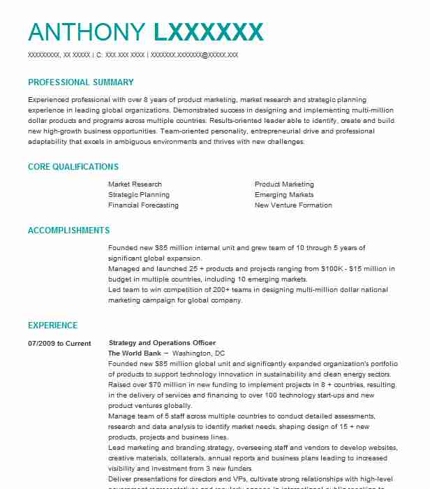 Category Specialist Resume Example Walmart Ecommerce
