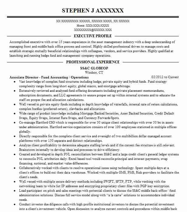 best accountant resume example