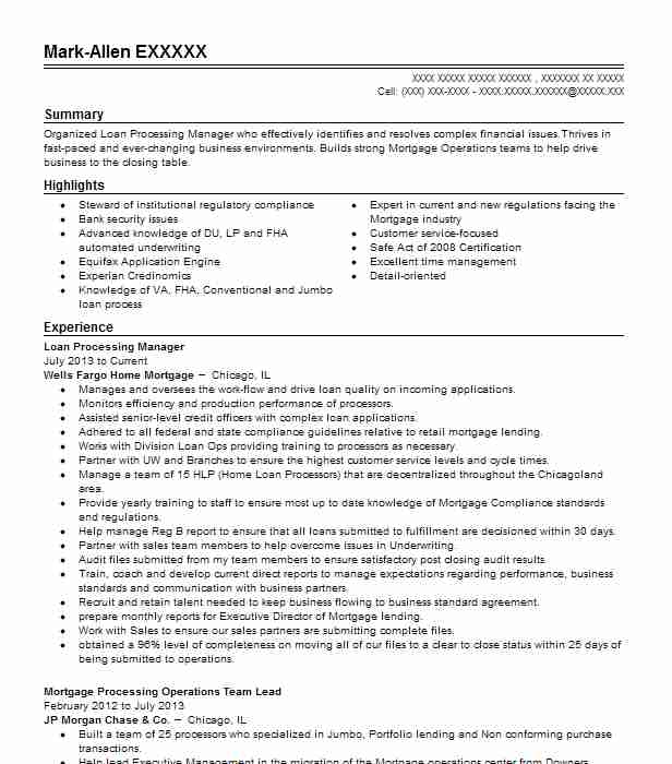 Mortgage operations manager resume essay planning scaffold