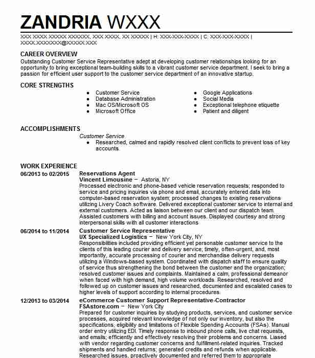 hotel reservations agent resume example soho grand hotel