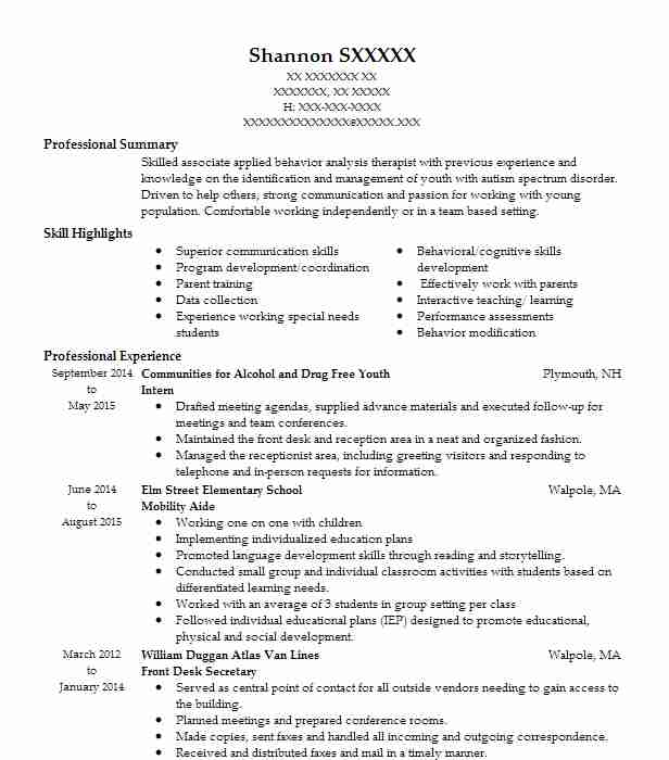 best drug and alcohol counselor resume example