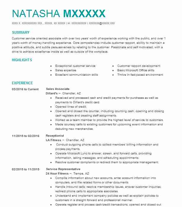 Marvelous Create My Resume Throughout Spa Receptionist Resume