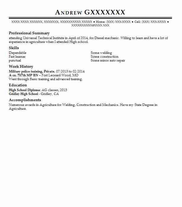 private military contractor resume example soc