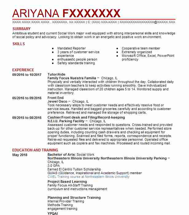 Create My Resume  It Helpdesk Resume