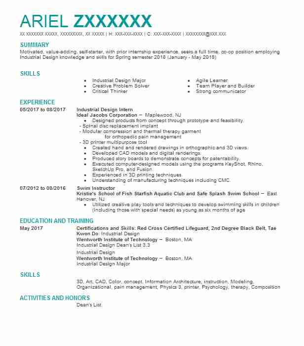 Top Product Design Resume  Product Design Resume