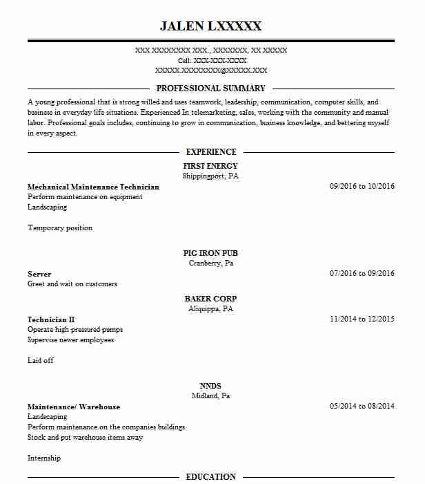 3336 Construction Laborers (Construction) Resume Examples in ...