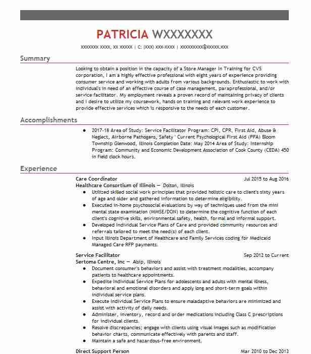 recovery support specialist resume example seabhs thatcher